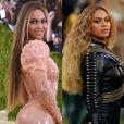 Beyoncé é uma verdadeira metamorfose quando o assunto é cabelo. A cantora, que tem os fios naturalmente cacheados, sempre adota diferentes estilos, lisos e com ondas