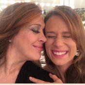 Claudia Raia participa de 'Haja Coração' e posa com Mariana Ximenes: 'Tancinhas'
