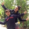 """Kelly Key chama o seu filho, Jaime Victor, de 11 anos, de """"príncipe"""""""