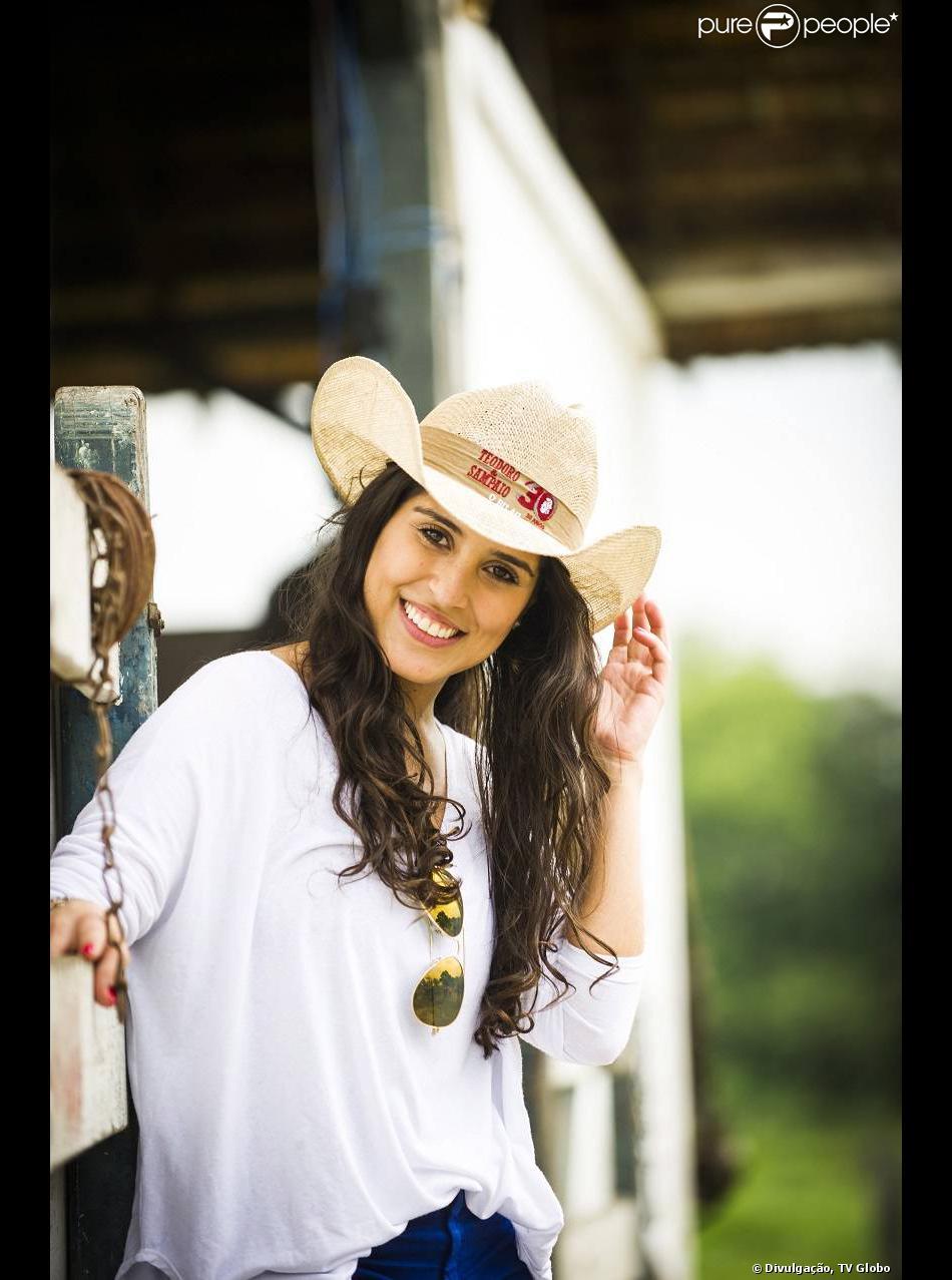 Camilla Camargo será a domadora de cavalos Ana na última novela de Manoel carlos, 'Em Família'