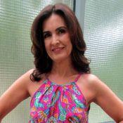 Globo nega internação de Fátima Bernardes por botox: 'Não fez o procedimento'