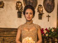 'Liberdade, Liberdade': Joaquina se casa com vestido de noiva dourado. Foto!