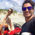 Isis Valverde e namorado têm viagem patrocinada, em Jericoacara, no Ceará, nordeste do país