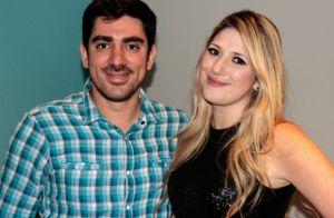 Dani Calabresa acompanha Marcelo Adnet em gravação após humorista negar traição
