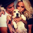 Bruno, que já tem oito cães com a a mulher, Giovanna Ewbank, presenteou a amiga Fernanda Paes Leme com um dos filhotes