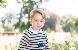 Kate Middleton e William divulgam fotos do príncipe George no seu aniversário