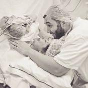 Antonia Fontenelle mostra foto do parto do filho Salvatore: 'Não chora, um lord'
