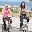 Glenda Kozlowski também é adepta de esportes: ela pratica pilates, ciclismo e corrida
