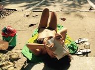 Cauã Reymond elogia a namorada, Mariana Goldfarb, de biquíni em foto: 'Sereia'