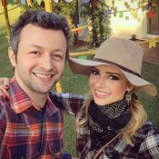 Sandy posa de caipira em festa e fãs lembram hit: 'Maria Chiquinha'
