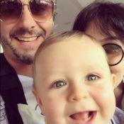 Alexandre Nero encanta fãs com foto fofa do filho, Noá: 'Lindo igual ao pai'