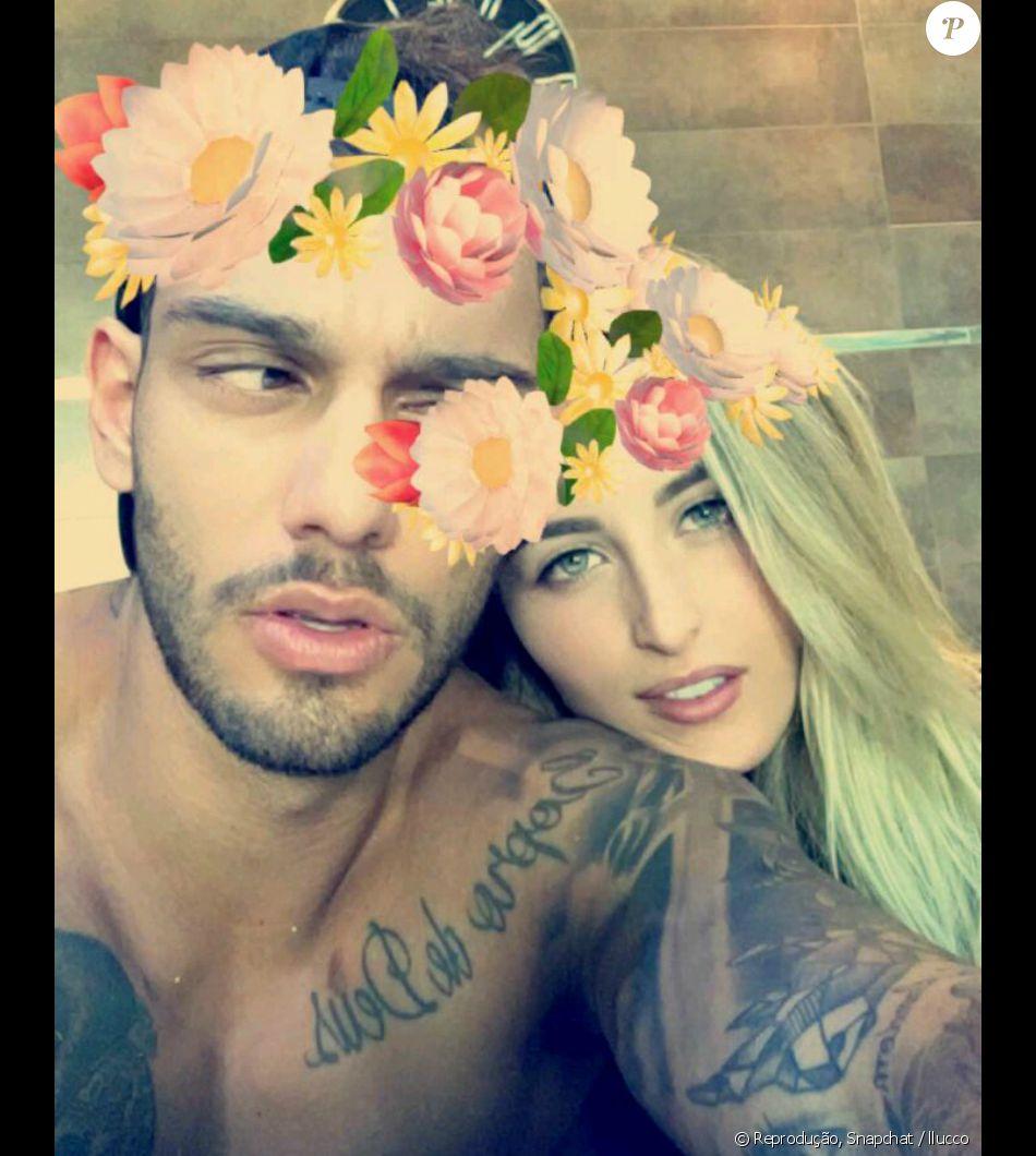 Lucas Lucco volta a posar com Lorena Carvalho em rede social