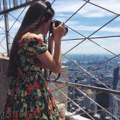 Camila Queiroz curte folga de 'Êta Mundo Bom!' em NY: 'Emocionante'. Fotos!