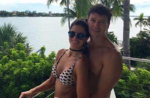 Rodrigo Faro se diverte com mulher e filhas em praias de Miami. Fotos!