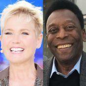 Xuxa ironiza pé de Pelé em entrevista com Thiaguinho na TV: 'Feio, tem garras'