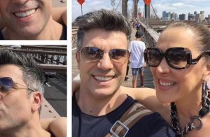 Claudia Raia curte viagem com marido, Jarbas Homem de Mello, a Nova York. Fotos!