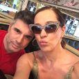 Claudia Raia usou as redes sociais para dividir com os fãs alguns momentos da viagem