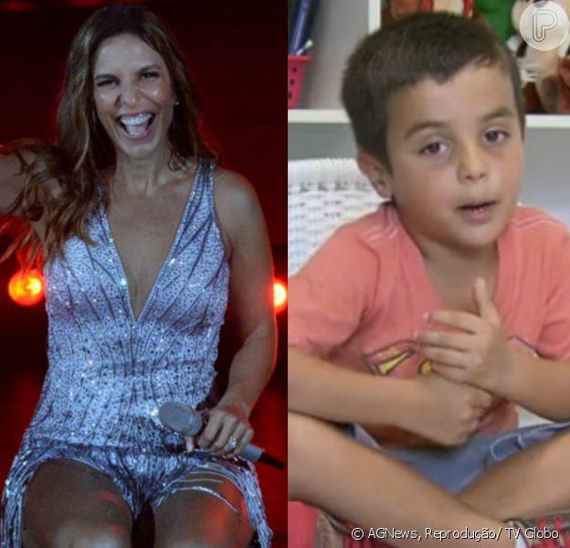 Ivete Sangalo diz que filho interrompeu gravação de DVD: 'Quero sushi, mamãe'