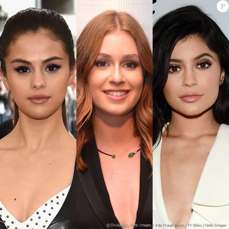 Marina Ruy Barbosa, Kylie Jenner e Selena Gomez são algumas das famosas que  usam e 8b279154e9
