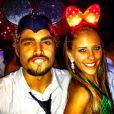 Caio Castro teve um namoro-relâmpago com a curitibana Sabrina Pimpão