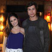 Francisco Vitti, com a namorada, Amanda de Godoi, comemora aniversário. Fotos!