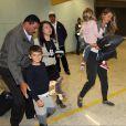 Gisele Bündchen desembarcou no aeroporto internacional de Cumbica, em Guarulhos, São Paulo, acompanhada dos filhos Benjamin, 6 anos, e Vivian, 3, nesta segunda-feira, 1 de agosto de 2016