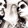 Bruno Ferrari é casado com a atriz Paloma Duarte há quatro anos. Os dois têm um filho juntos e moram com mais duas filhas da atriz
