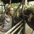Anderson Di Rizzi tem facilidade para 'contracenar' com os animais na novela 'Êta Mundo Bom!', já que foi criado próximo aos bichos