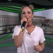 Claudia Leitte divide a web com look em transmissão de Olimpíada: 'Mamuska'