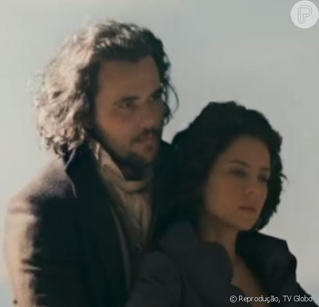 Xavier (Bruno Ferrari) e Rosa/Joaquina (Andreia Horta) tiveram fina feliz no último capítulo da novela 'Liberdade, Liberdade', exibido na noite desta quinta-feira, 4 de agosto de 2016