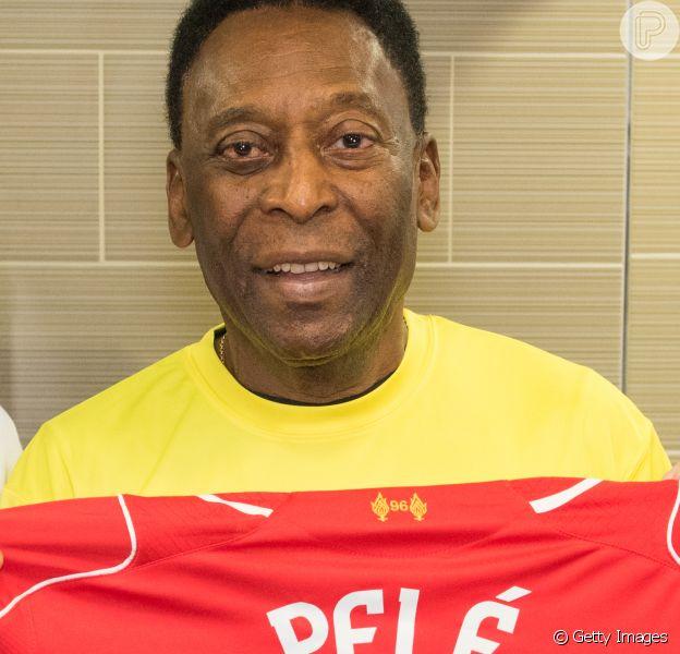 Pelé não acenderá a pira olímpica. 'Sem condições físicas'
