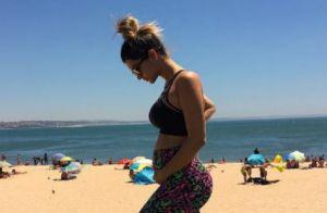 Kelly Key mostra a barriguinha com 4 meses de gravidez e é elogiada: 'Diva'