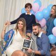 Kelly Key é casada com o empresário Mico Freitas e mãe de Suzanna, de 15 anos, e Jaime Vitor, de 11