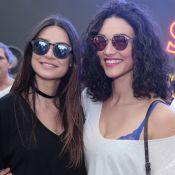 Débora Nascimento e Thaila Ayala se reúnem antes da abertura da Olimpíada. Fotos
