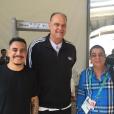 Zeca Pagodinho posta foto ao lado de Oscar Schmidt e Marcelo D2, com quem cantou o hit 'Deixa a Vida Me Levar', durante a abertura dos Jogos Olímpicos 2016