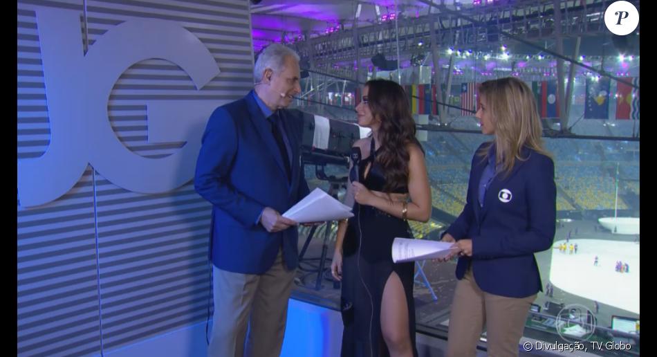 Anitta rebate críticas de jornalista após show de abertura dos Jogos Olímpicos Rio 2016