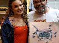 Ex-BBB Cacau homenageia o pai falecido com tatuagem: 'Nossa última dança'