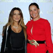 Cleo Pires e Carolina Ferraz se encontram em festa no Rio: 'Eu e mamãe'