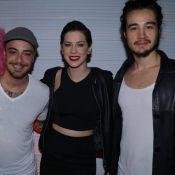 Sophia Abrahão, Tiago Iorc e Felipe Titto curtem festa em hotel no Rio. Fotos!