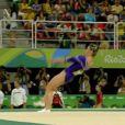 Daniele Hypolito caiu em sua primeira apresentação na ginastica artística das Olimpíadas 2016