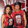 Carolina Oliveira e o jogador de pôquer Felipe Mojave não estão mais namorando, após três anos de relacionamento