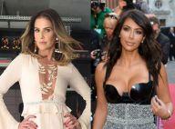 Deborah Secco e Kim Kardashian filmam risadas fofas de seus filhos. Vídeos!