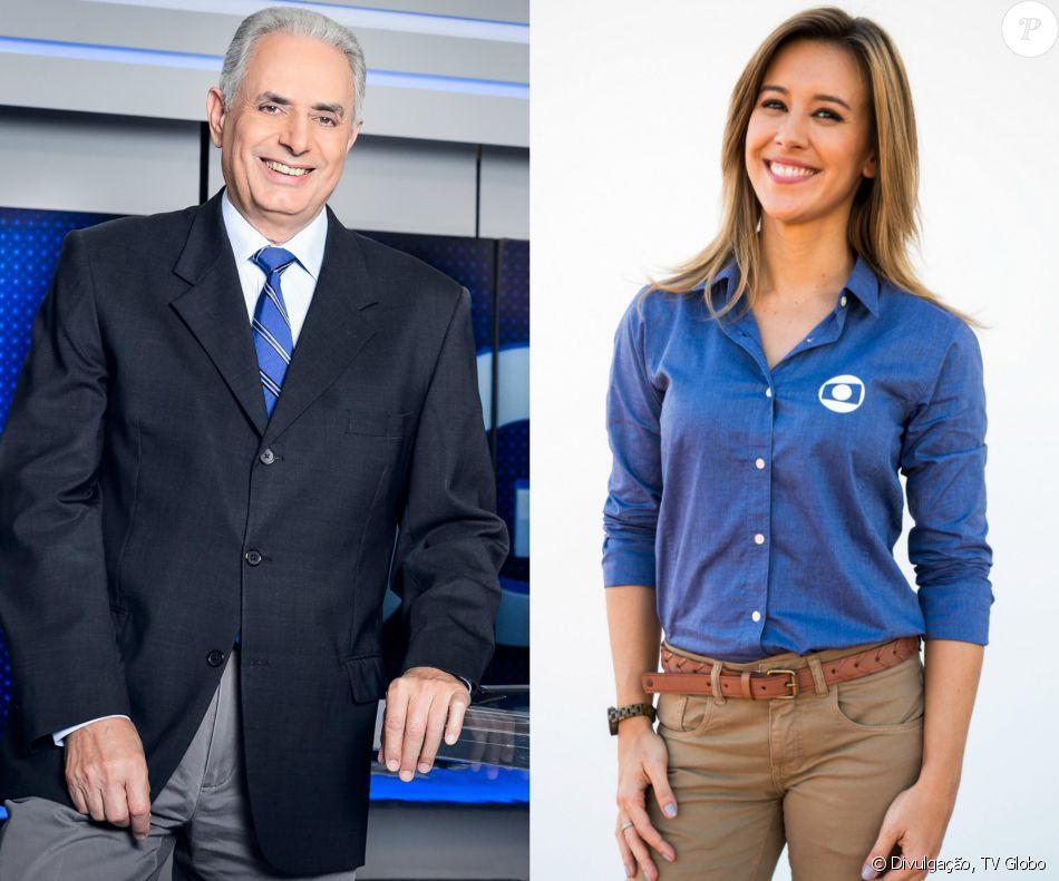 89386b6454 William Waack e Cris Dias se desentenderam durante o  Jornal da Globo   desta quarta-feira