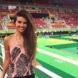 Anaju Dorigon também marcou presença nos jogos da Olimpíada Rio 2016