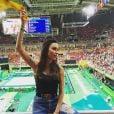 Thayla Ayala torceu pela ginástica artística na Olimpíada Rio 2016