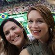 Thaila Ayala, Mariana Ximenes e Carol Sampaio vibraram com as duas medalhas brasileiras na ginástica artística na Rio 2016