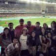 Vanessa Gerbelli levou a família e amigos para as provas de atletismo da Rio 2016