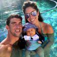 Boomer Robert Phelps, de 3 meses, filho de Michael Phelps com a modelo Nicole Johnson, já conquistou mais de 300 mil seguidores no Instagram. Boomer nasceu no dia5 de maio de 2016 e inciou a conta na rede social um mês após seu nascimento