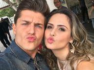 Ex-BBB Ana Paula Renault tieta Klebber Toledo nos Estúdios Globo: 'Beijinho'