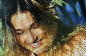 Sasha grava sua primeira entrevista para programa de Fábio Porchat na Record